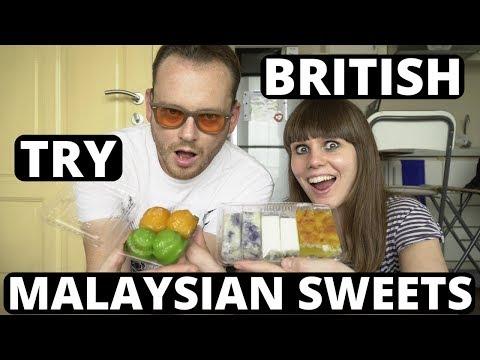 BRITISH Try MALAYSIAN Sweets - KUIH - NYONYA - Malaysia - Kuala Lumpur