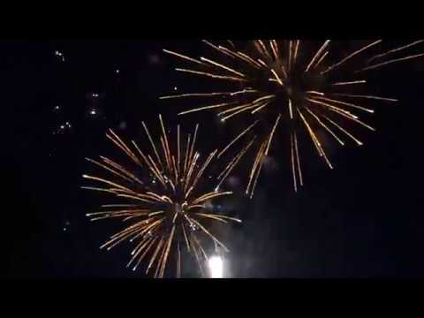 2017 Backyard Fireworks Display - Set Up & Show - Double ...