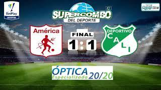 EN VIVO | AMÉRICA DE CALI VS. DEPORTIVO CALI - FECHA 14 - #LigaBetplay