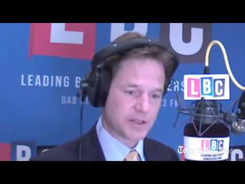 Nick Clegg: Prince Charles 'entitled to express views' on Vladimir Putin