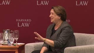 U.S. Supreme Court Associate Justice Elena Kagan '86 at HLS