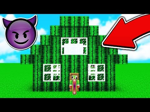 TURNING UNSPEAKABLEGAMING'S HOUSE INTO CACTUS! 😈 (TROLL WARS #11)