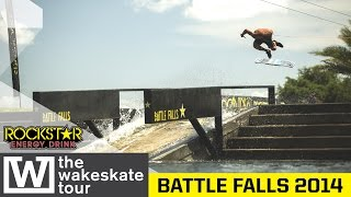 The Wakeskate Tour 2014 - Battle Falls