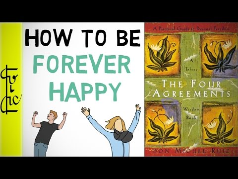 How Can You Be Always Happy Hindi The Four Agreements Book