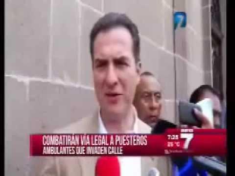 Combatirá Monterrey a vendedores ambulantes del centro de la ciudad