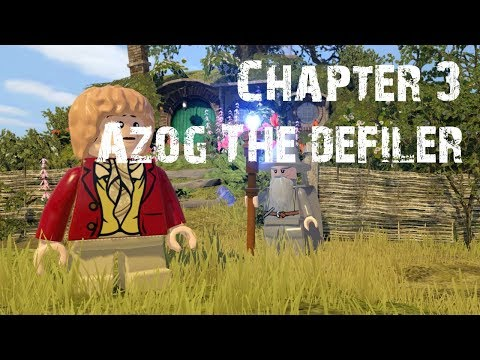 Lego The Hobbit Chapter 3: Azog The Defiler - Full Episode Gameplay Playthrough