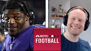 Top 10 Most Overrated and Over Drafted Fantasy Football Players | Rotoworld Football Podcast