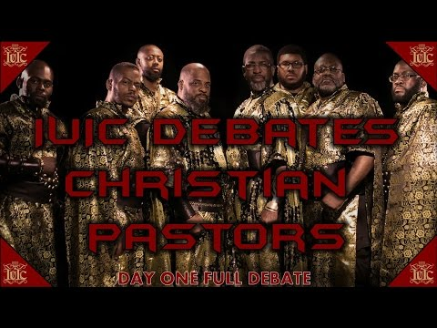 The Israelites: IUIC DEBATES CHRISTIAN PASTORS #DayOne #Full
