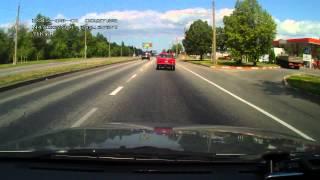 вопрос:как определить скорость обгоняющего авто?