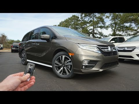 Honda Odyssey Elite: Start Up, Walkaround, Test Drive and Review