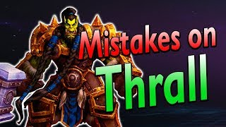 4 Mistakes you Might be Making on Thrall (With build guides)