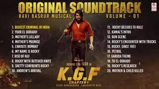 KGF Chapter-1 BGM (Original Soundtrack)   Vol 1  Yash   Ravi Basrur   Prashanth Neel   Hombale films