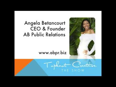 Angela Betancourt of AB Public Relations