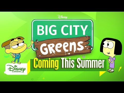 Meet the Greens | Big City Greens | Disney Channel