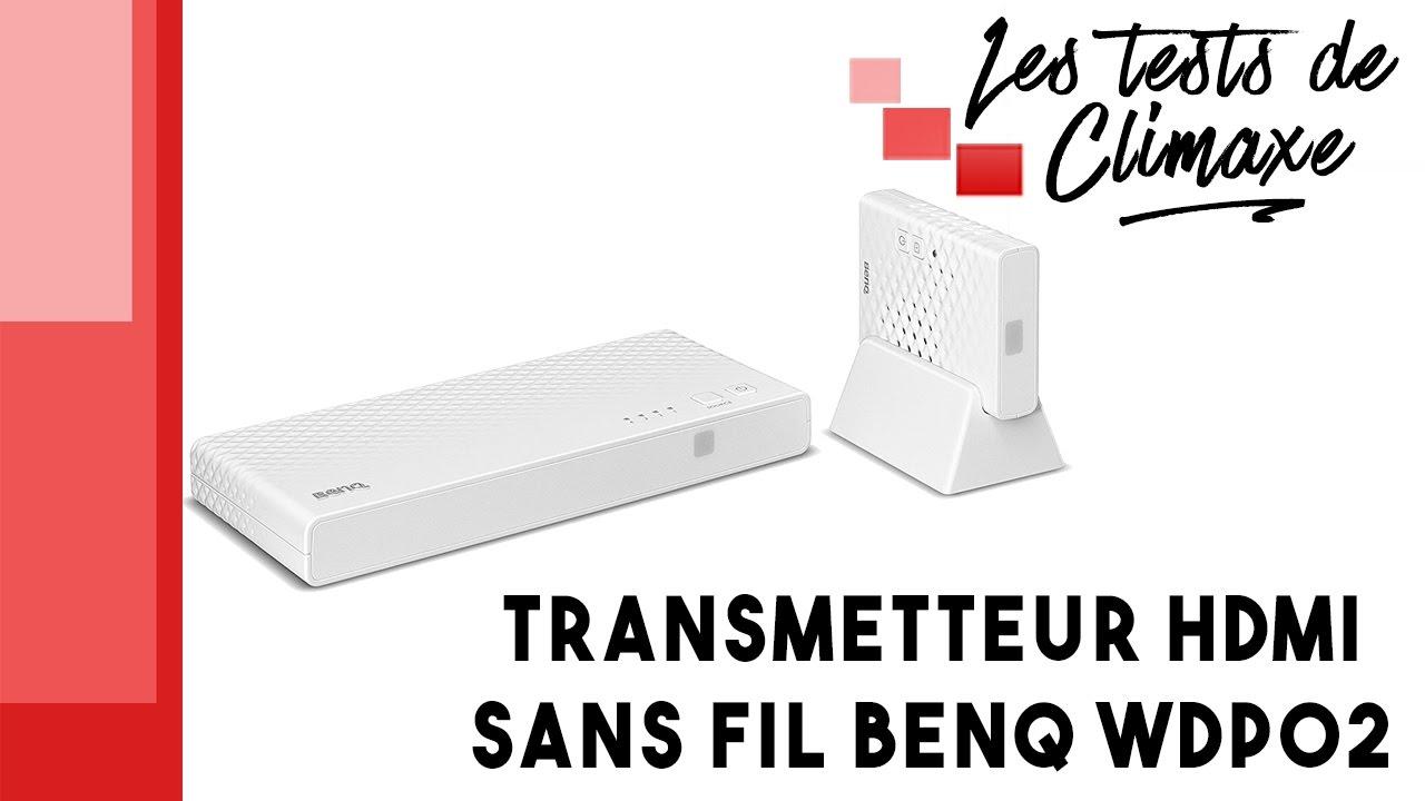 test d 39 un transmetteur hdmi sans fil benq wdp02 pour. Black Bedroom Furniture Sets. Home Design Ideas