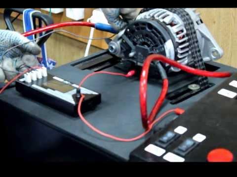 Ролик Стенд для проверки генераторов и стартеров