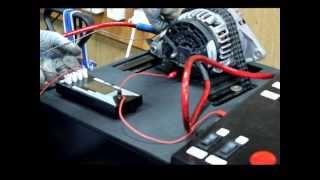 Стенд для проверки генераторов и ткани