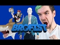 watch he video of The Youtubers songs jacksepticeye, H2O DELIRIOUS, PewDiePie and Markiplier