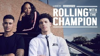 Cari Champion With Lonzo Ball And Kyle Kuzma | ROLLING WITH THE CHAMPION