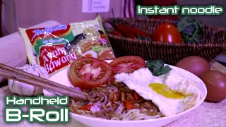 Indomie Epic B-Roll Handheld - Instant Noodle | Daniel Schiffer Inspired