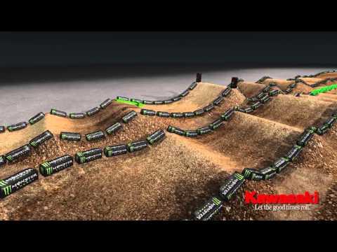 Supercross LIVE 2013 – St Louis 3213 – Monster Energy Supercross Animated Track Map