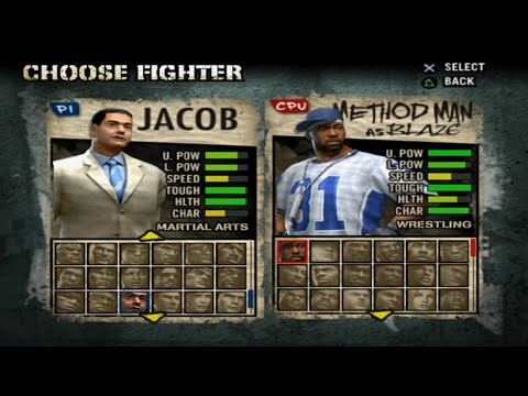 Def Jam: Fight For NY All Characters [PS2]