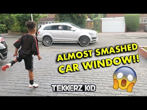 I Almost Smashed The Car Window!! | Multiple 60 Minute Football Challenge
