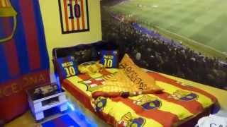 barcelona fc kids room