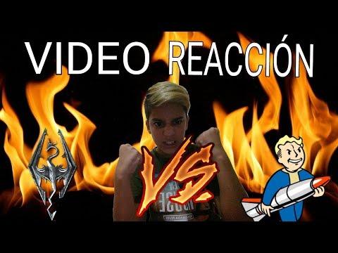 SKYRIM VS FALLOUT/VIDEO REACCIÓN