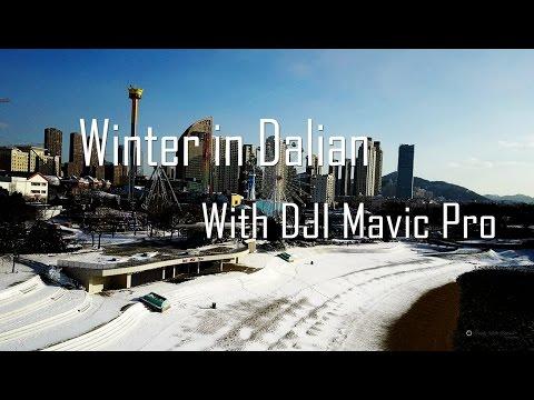 Winter trip to Dalian with DJI Mavic Pro - Subzero temperature and gusty wind