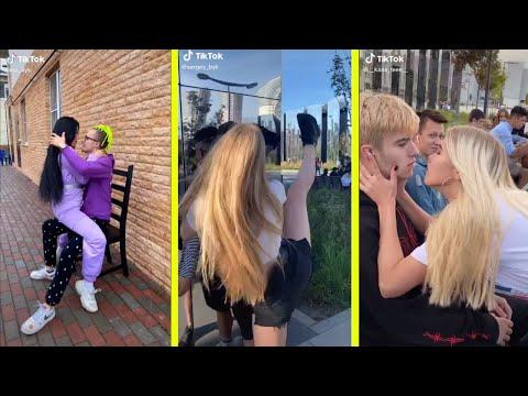 Tiktok Öpüşme Akımı - Tik Tok Tanımadığın İnsanlarla Öpüşme tiktok videoları