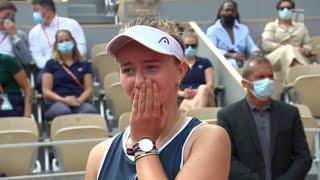 Barbora Krejcikova: 2021 Roland Garros Final Interview