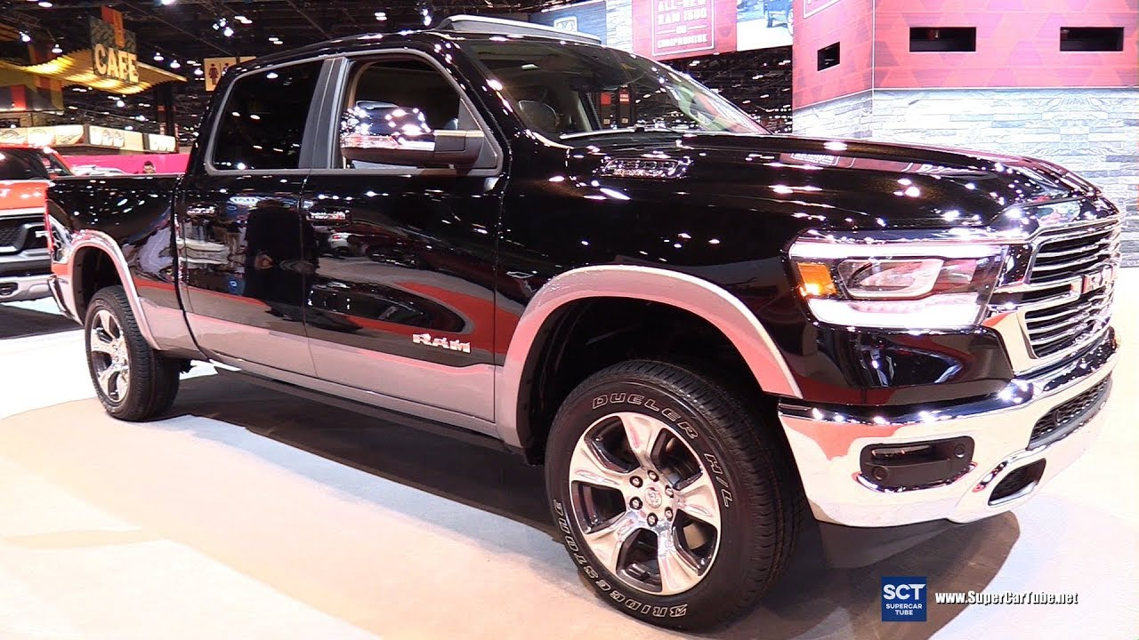 2019 Dodge Ram 1500 Laramie Exterior Interior Walkaround 2018 Chicago Auto Show