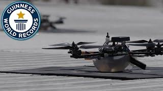 100 drones in flight - Guinness World Records