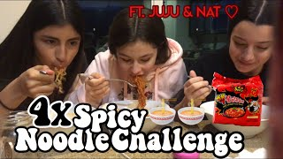 4X SPICY NOODLE CHALLENGE FT NATJULES