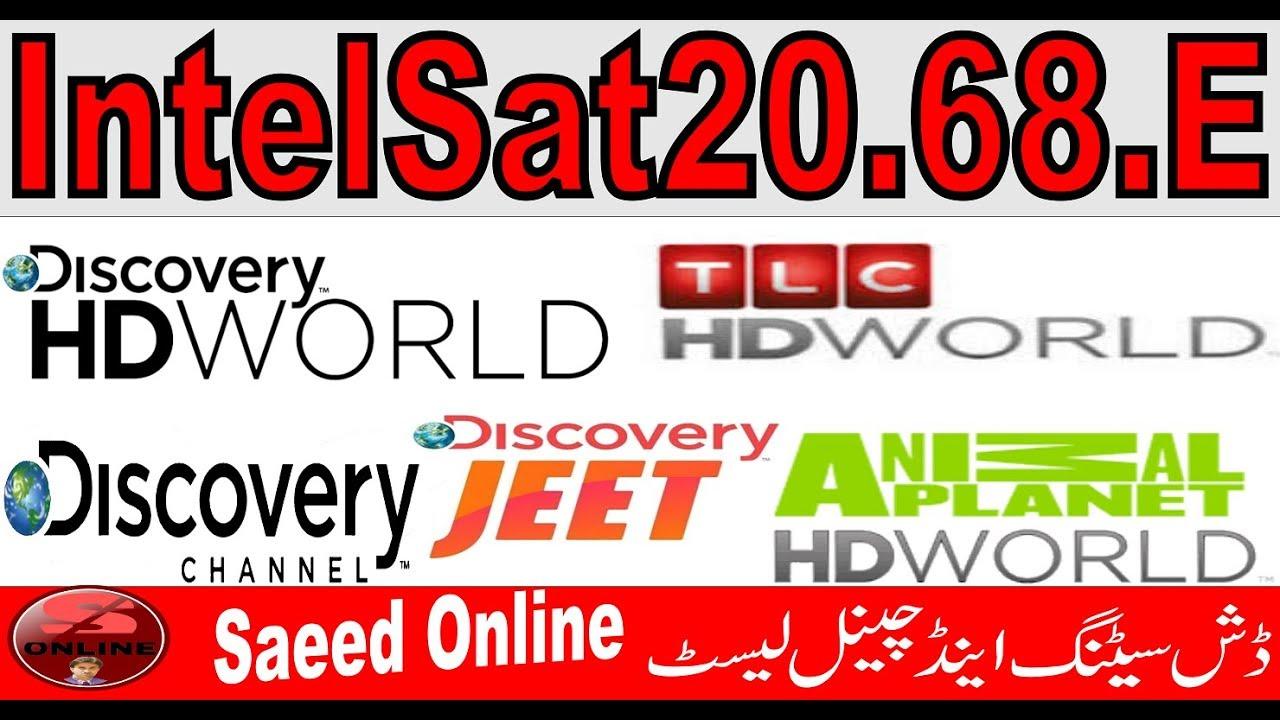 Intelsat20 68E || Dish Setting || Channels List Animal Planet
