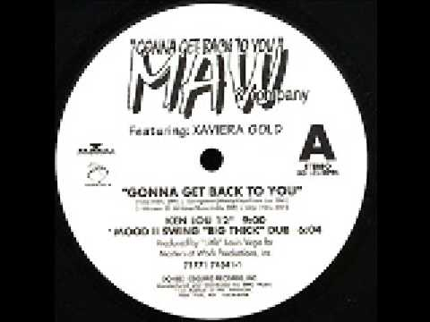 "Masters At Work Feat. Xaviera Gold - Gonna Get Back To You (Kenlou 12"")"