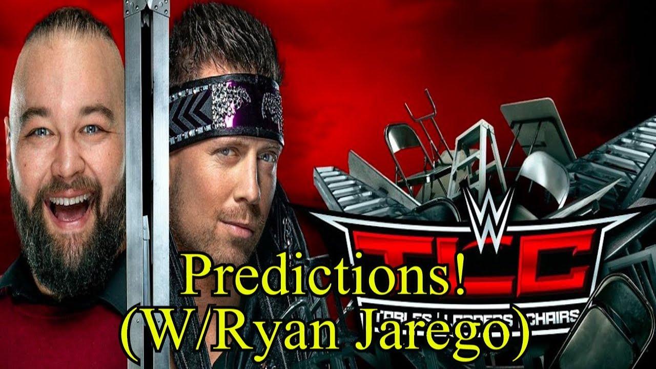 WWE TLC 2019 Predictions (W/Ryan Jarego).