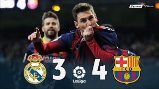 Real Madrid 3 X 4 Barcelona La Liga 13 14 Extended Goals Highlights MP3