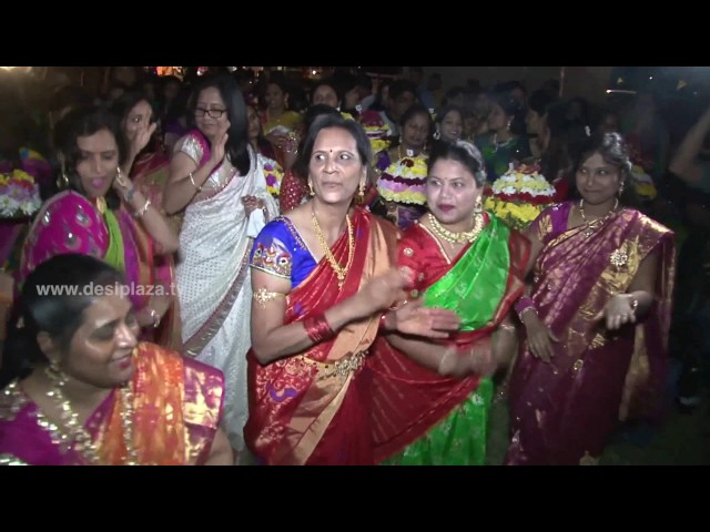 Bathukamma Nimajjanam at DATA Bathukamma & Dasara Panduga Celebrations 2016