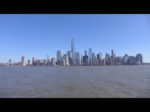 New York, New York - New York City skyline seen from Jersey City HD (2016)