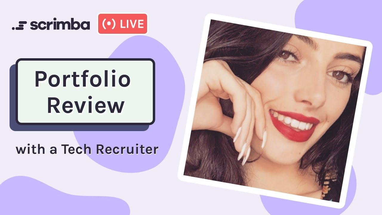 💫 Portfolio Review with a Tech Recruiter