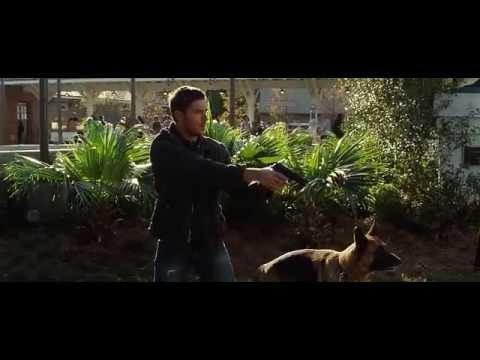 The Lucky One gun scene
