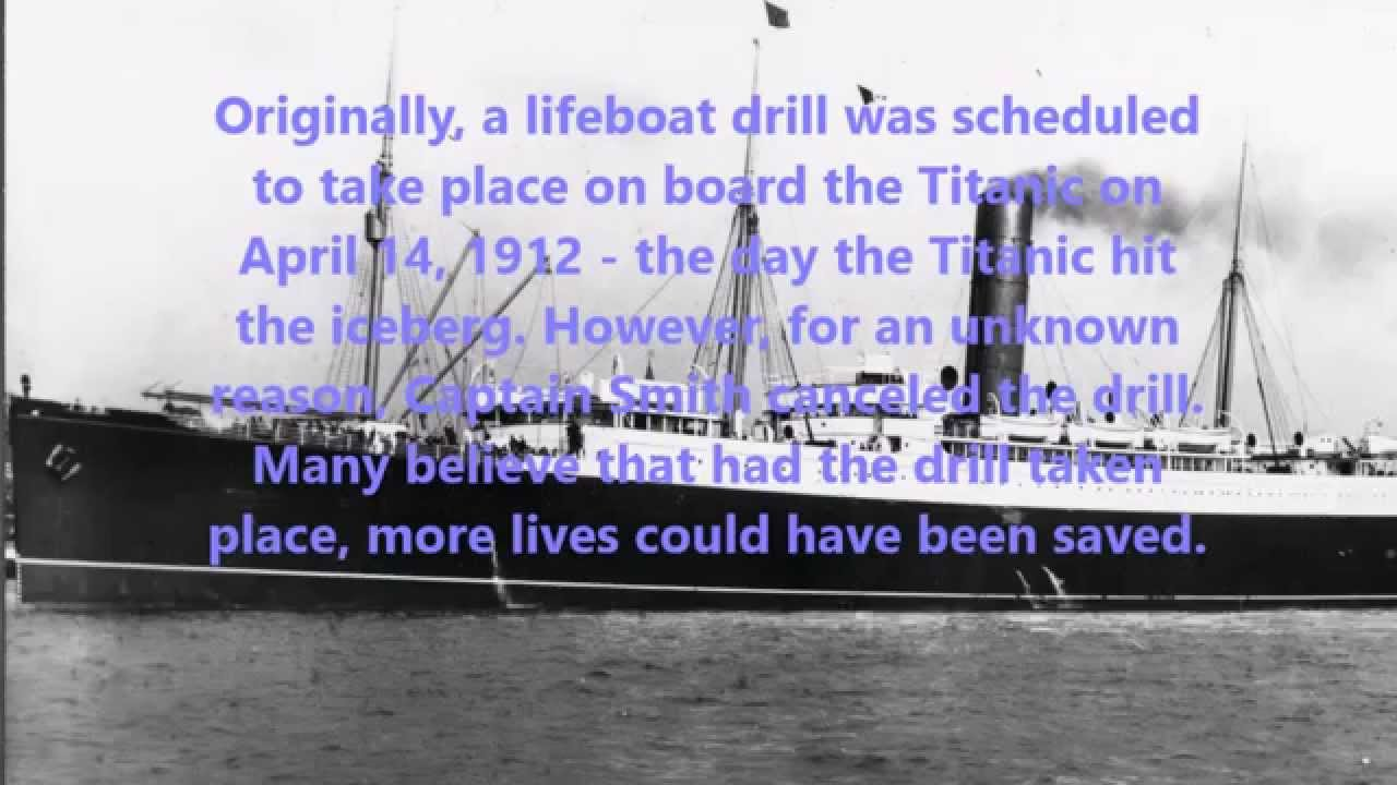 10 Facts About the Titanic That You Don't Know - YouTube