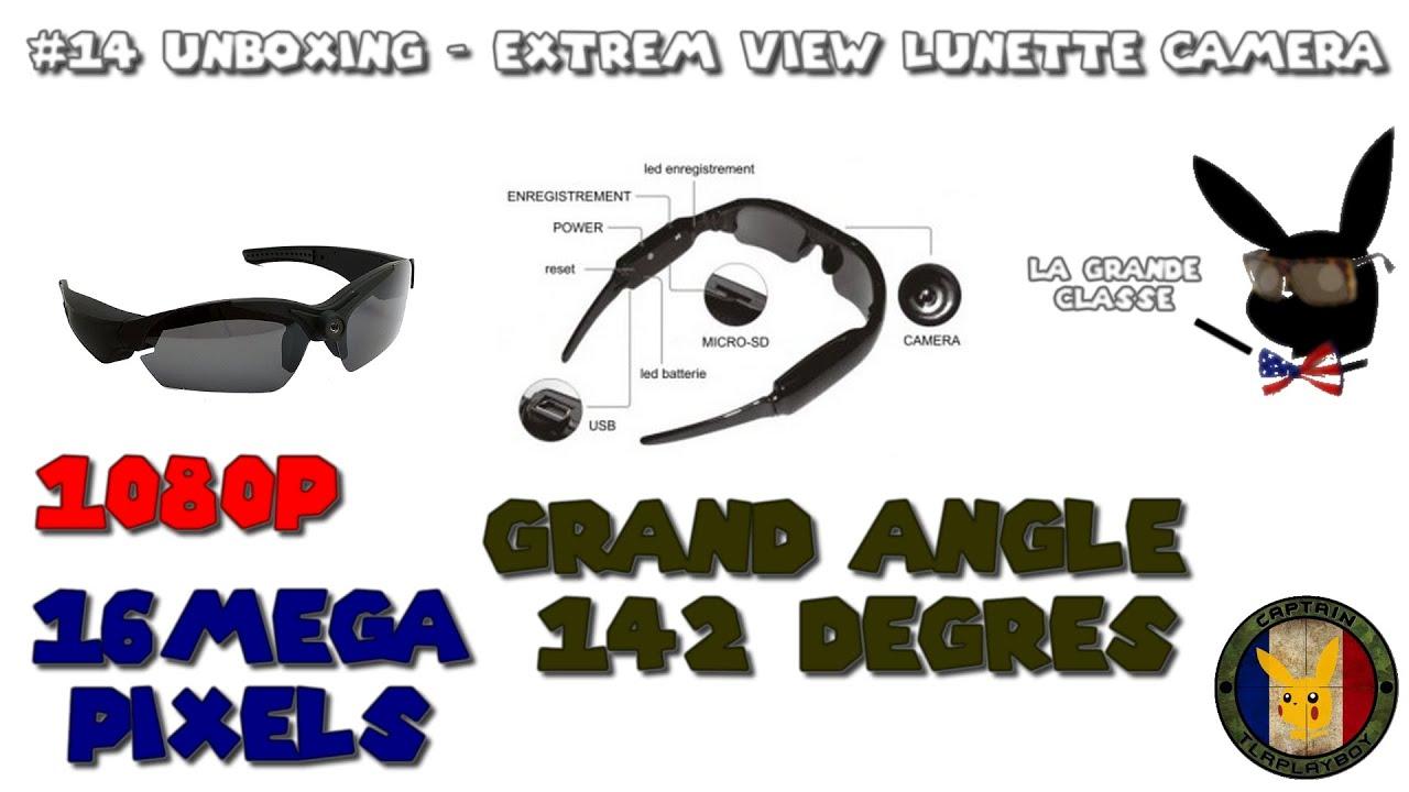 bfba23efc66d58 14 Unboxing - Extrem View Lunette Caméra - YouTube