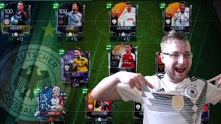 FIFA Mobile 18 World Cup Squad Builder! Full German National Squad!