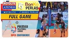 PVL OC 2018: Ateneo-Motolite vs. BanKo-Perlas | Full Game | 3rd Set | November 10, 2018