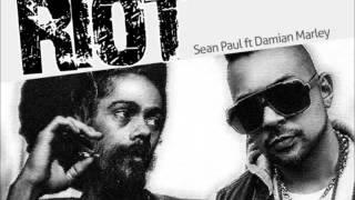 Sean Paul - Riot ft. Damian Marley reggae remix