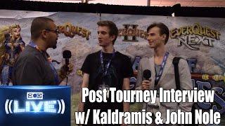 SOE Live 2014 Post Tourney Interview - Kaldramis and John Nole