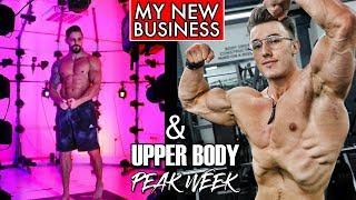 MY NEW BUSINESS | Raw Upper Body Workout w/ Brandon Harding (Hardbody)